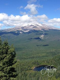 www.jodistilpphotography.com, landscapes, copyright Jodi Stilp Photography LLC, Mirror Lake and Mt. Hood from Tom, Dick and Harry Summit