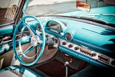 vintage car interiors - Google Search