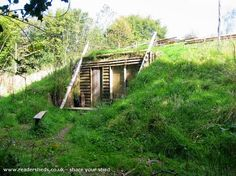 Beautiful Hobbit Garden Sheds | Green Architecture | Design we Need