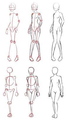 Body Anatomy Drawing Tutorials – Body Anatomy Drawing - drawing tips Anatomy Sketches, Body Sketches, Anatomy Drawing, How To Draw Anatomy, Anatomy Male, Drawing Body Poses, Drawing Reference Poses, Drawing Tips, Hand Reference