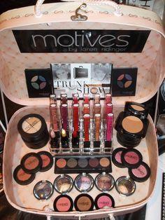Motives mineral makeup trunk show! Ask me how to host your own or shop online www.MotivesByLisa.com #MotivesForLaLa #MakeupMonday