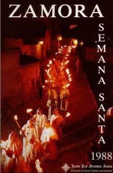 Cartel de la Semana Santa de Zamora 1988 Buena muerte