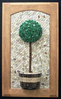 Topiary 3D mosaic - Minerva Mosaics