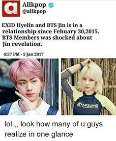 Hyelin and Jin? •°•°•°•°•°•°•