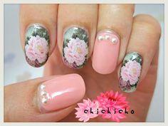C6-020 Water Decal Nail Art! | chichicho~ nail art addicts