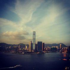 Hong Kong... The bay
