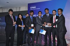 India School of Business Wins the Prestigious KPMG International Case Competition – National Finals 2015