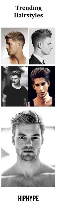 Trending hairstyles for men