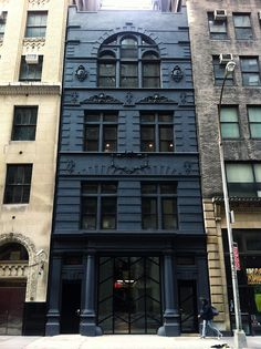 Black Building Facade