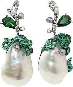 ARUNASHI South Sea Pearl Earrings $25,500 thestylecure.com