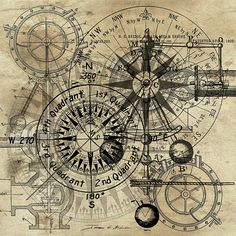 New Steampunk Abstract - 2014 - Copyright - James Christopher Hill - All Rights Reserved http://james-christopher-hill.artistwebsites.com/featured/autowheel-iii-james-christopher-hill.html