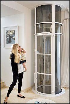 Official Site   PVE The Exclusive Manufacturer Of Vacuum Elevators. No  Shaft, Pit Or · Petites Maison EscaliersAscenseurAspirateursMaisons ...
