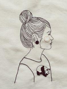 Karen / embroidery / art / queridasputnik /
