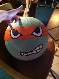 how to make a beach ball out of construction paper