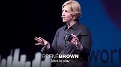 Brené Brown: The power of vulnerability | Video on TED.com    Saw her on Katie. Love what she has to say....