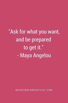 Maya Angelou quote #prepare