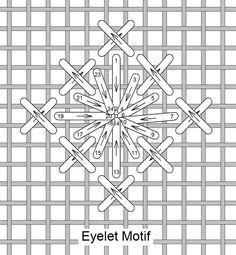 Needlelace - Stitch of the Month January