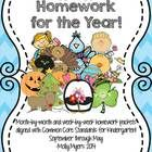 This+Kindergarten+Homework+Packet+is+bundled+to+include+ALL+months+of+homework+(September+through+May)!++Save+more+than+25%+by+buying+the+bundle.+E...