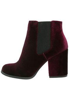 Even&Odd Boots à talons - burgundy - ZALANDO.FR