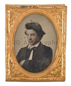Ninth Plate Ambrotype 19th Century Photography Vintage Gold Frame | eBay