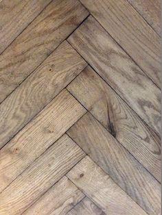 herringbone in foyer?, like color Gray Interior, Interior Design Tips, Interior Styling, Exterior Design, Timber Flooring, Parquet Flooring, Hardwood Floors, Floor Design, Rustic Interiors