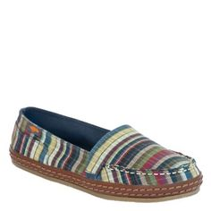 Funky, fresh: the Carolina Yucatan slip-on. #RocketDog #Shoes #BTS
