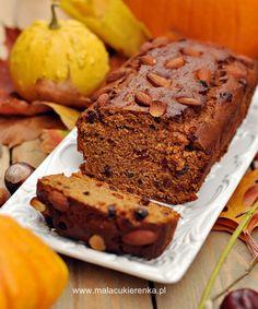 Ciasto wegańskie z dynią - Mała Cukierenka