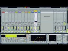Impressive example for Sound Design in Ableton Live. A whole Track out of one Sample (of an electric toothbrush).