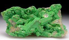 Bayldonite - PbCu3(AsO4)2(OH)2 - after Mimetite - Tsumeb, Namibia.