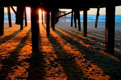 Sunrise from under Claremont Pier Lowestoft, England Black Shuck, Suffolk Coast, Seaside Holidays, Cromer, Seaside Towns, British Isles, Summer Travel, Coastal Living, Norfolk