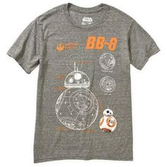 Star Wars BB8 The Sensor Men's Graphic Tee - Walmart.com
