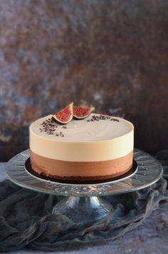 Caramel Mousse, Cake Recipes, Dessert Recipes, Mousse Cake, Food Cakes, Fondant Cakes, Cakes And More, No Bake Cake, Cake Designs