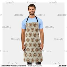 Western Kitchen Decor, Texas Star, Cook At Home, Summer Bbq, Artwork Design, Apron, Cool Designs, Arts And Crafts, Stars