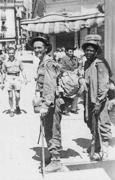 soldats des colonies