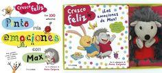 Libro infantil para la educación emocional: las emociones de Max