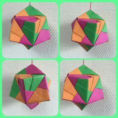 Fun Crafts, Crafts For Kids, Arts And Crafts, Paper Crafts, Origami And Quilling, Modular Origami, Math Art, Process Art, Art For Kids