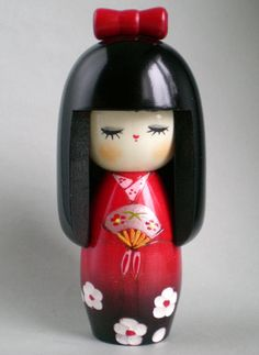 Such an cute little kokeshi doll