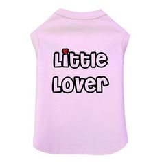 Little Lover Dog Tank Little Lover Dog Tank [FF-1355] - $19.99 :: Four Paws Place