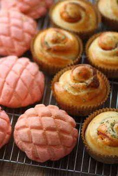 写真 Donut Muffins, Donuts, Japanese Buns, Pastry Shop, Bread Recipes, Bakery, Strawberry, Breakfast, Food