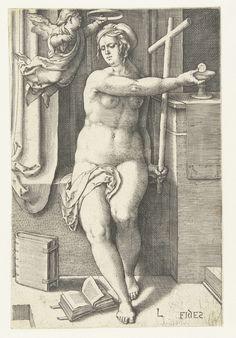 Geloof, Lucas van Leyden, 1530