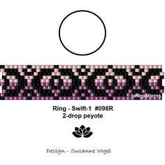 peyote ring patternPDF-Download Ring 098R-2d 2 variants 2