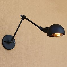 LightInTheBox Single Head Industrial Vintage Retro Wooden Metal Painting Color Wall lamp for the Home / Hotel / Corridor Decorate Wall Light in Wall Lamps & Sconces. Wall Colors, Paint Colors, Desk Lamp, Table Lamp, Hotel Corridor, Hallway Walls, Vintage Industrial, Metallica, Wall Sconces