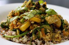 Summertime Tofu Scramble [Vegan] | One Green Planet