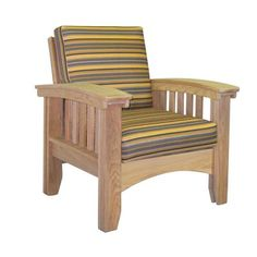 Enjoy the beauty of the outdoors in simple comfort with the Hershy Way Cypress Deep Seating Wood Patio Mission Chair . This patio chair was designed. Patio Lounge Chairs, Camping Chairs, Club Chairs, Outdoor Chairs, Outdoor Furniture, Outdoor Seating, Porch Furniture, Office Chairs, Mission Chair