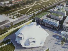 A Metz, Muse entre dans sa phase finale Centre Pompidou, Centre Commercial, Muse, Dan, Buildings, Real Estate, Nice