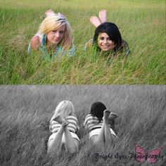 creative, cute, country, best friends, photography, Bright Eyes Photography