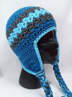 CROCHET HAT PATTERN Adults Zaggy Beanie by PlayinHookyDesigns $4.50