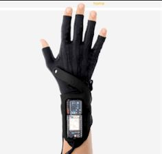 Imogen Heap engineered gloves that turn your movements into music. | These Gloves Turn Anyone Into A Talented Musician