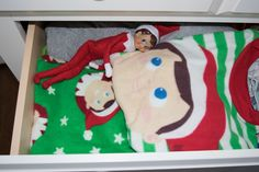 Elf on the Shelf brought new jammies