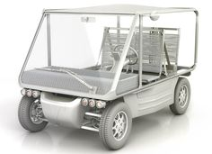 philippe starck: V+ volteis electric car